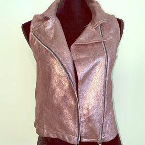 Pink Glittery Girl's Vest